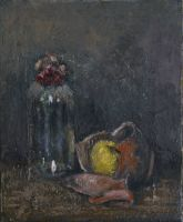 Nature morte au pot cassé (46x38cm)